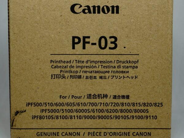 Głowica Canon PF-03