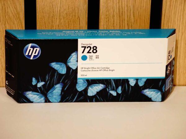 Tusz HP 728 C