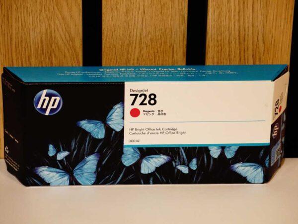 Tusz HP 728 M