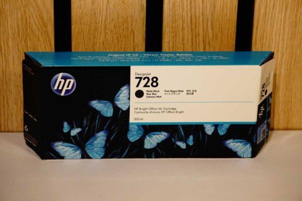 Tusz HP 728 MBK