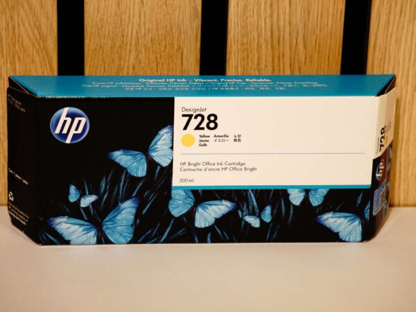 Tusz HP 728 Y